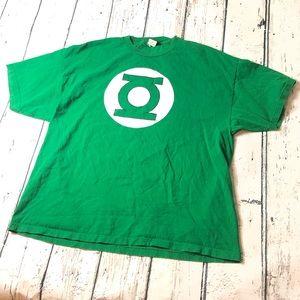 Vintage Green Lantern DC Comic T-Shirt Green 3X